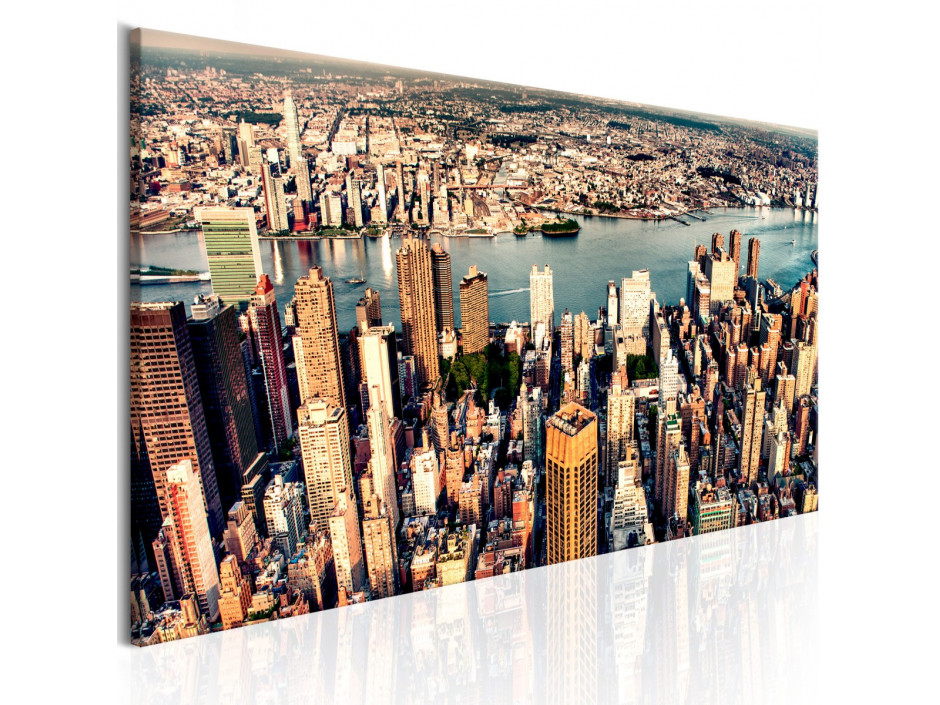 Tableau - Panorama of New York