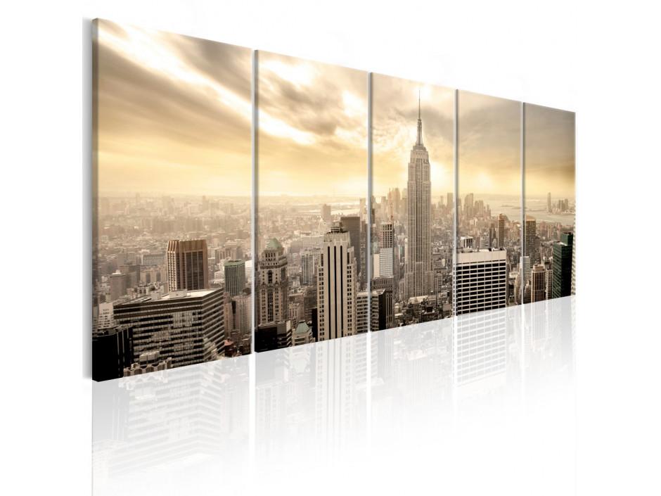 Tableau - New York: View on Manhattan