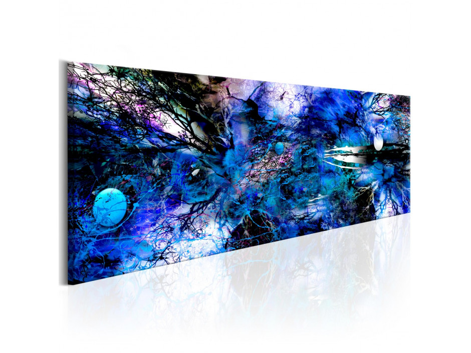 Tableau - Blue Artistic Chaos