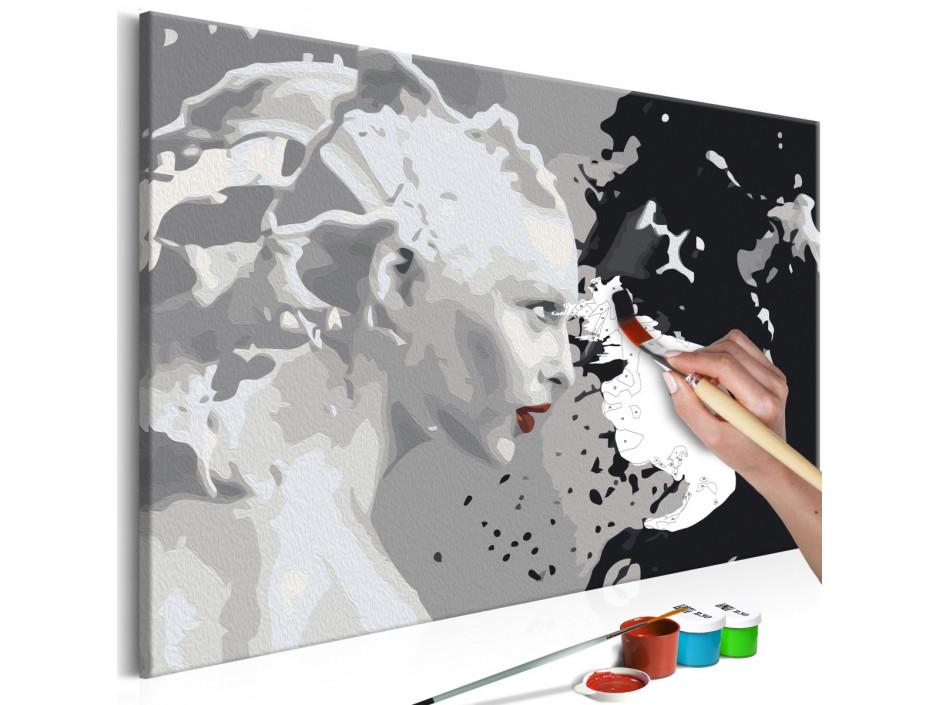 Tableau à peindre par soi-même - Black & White