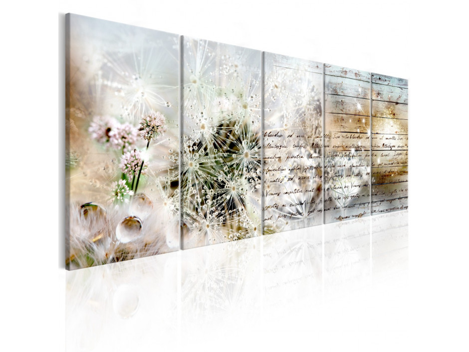 Tableau  Abstract Dandelions I