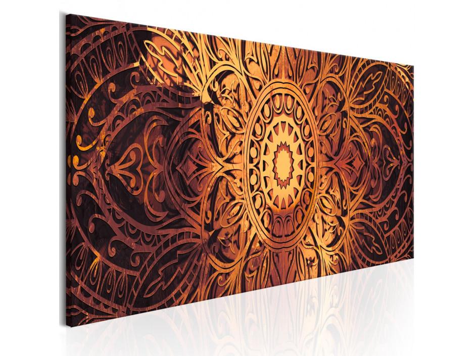 Tableau - Amber Mandala
