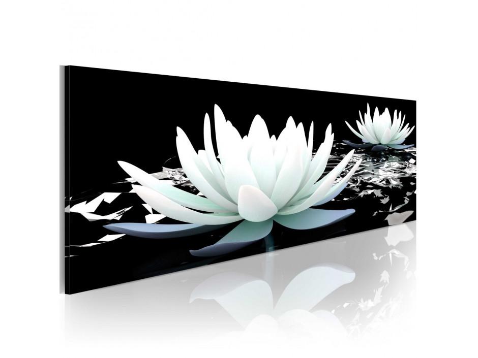 Tableau - Alabaster lilies