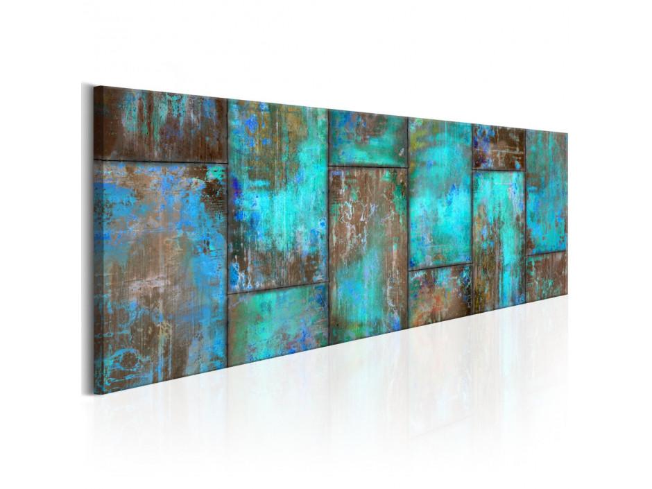Tableau - Metal Mosaic: Blue