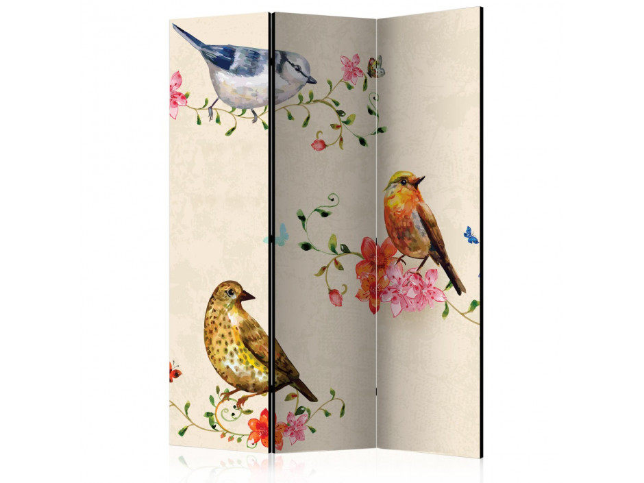 Paravent 3 volets Bird Song [Room Dividers]