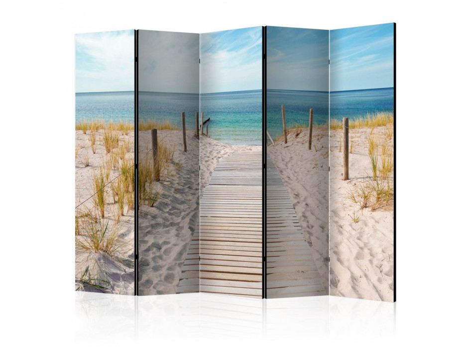 Paravent 5 volets Holiday at the Seaside II [Room Dividers]