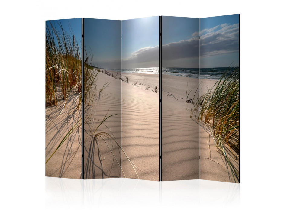 Paravent 5 volets Beach in Mrzezyno II [Room Dividers]