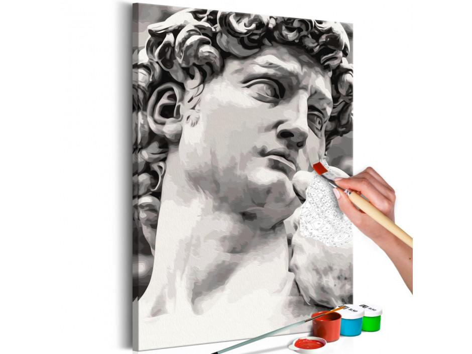 Tableau à peindre par soimême  Sculpture