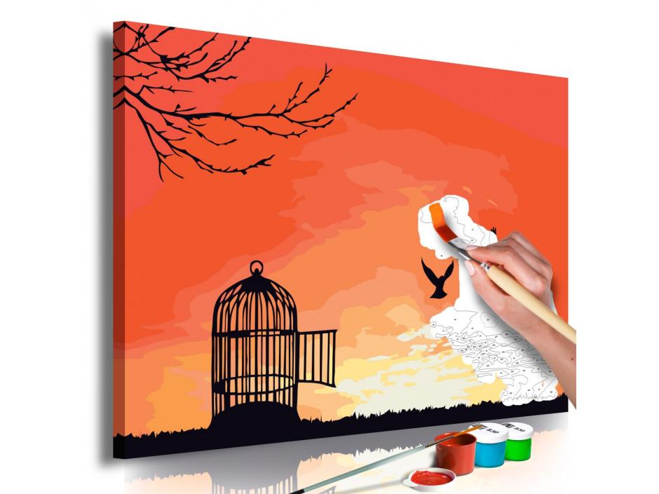 Tableau à peindre par soimême  Open Cage