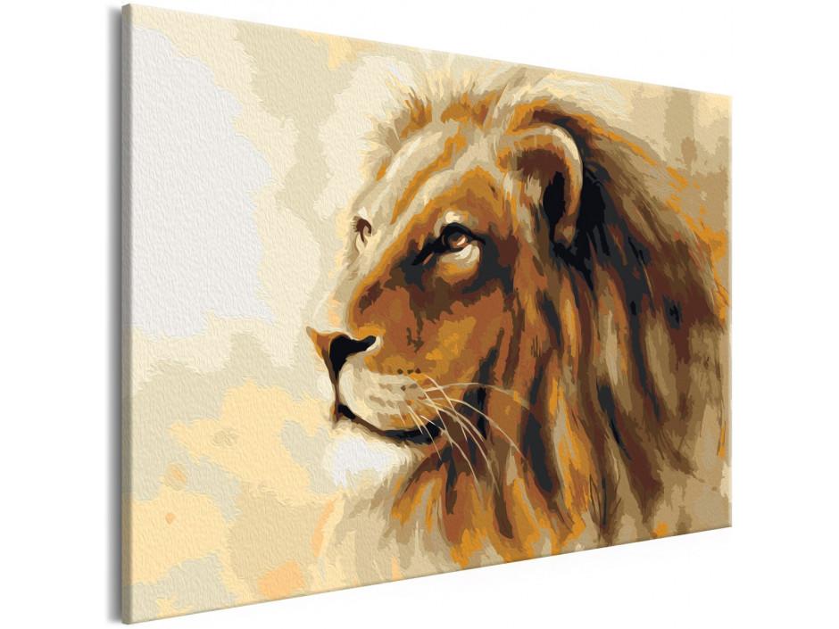 Tableau à peindre par soimême  Lion King