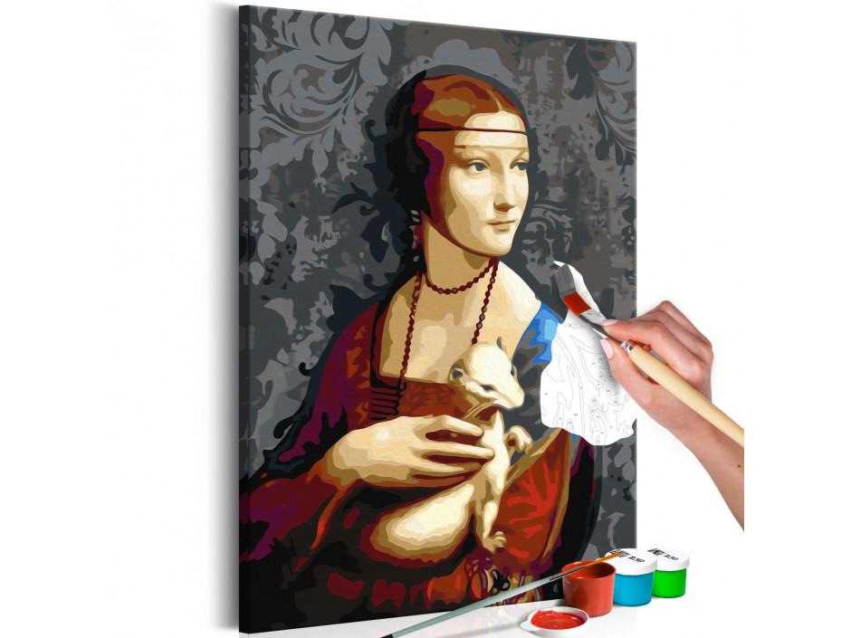 Tableau à peindre par soimême  Famous Portrait