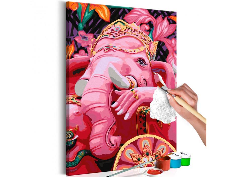 Tableau à peindre par soimême  Ganesha