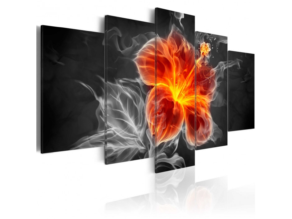 Tableau  Smoky flower