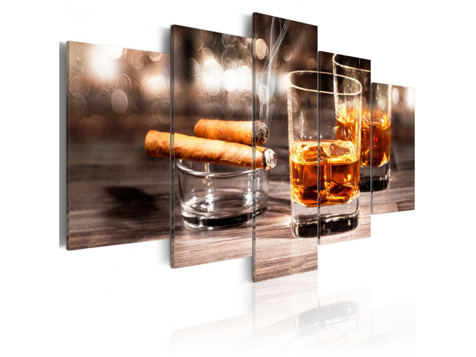 Tableau - Cigar and whiskey