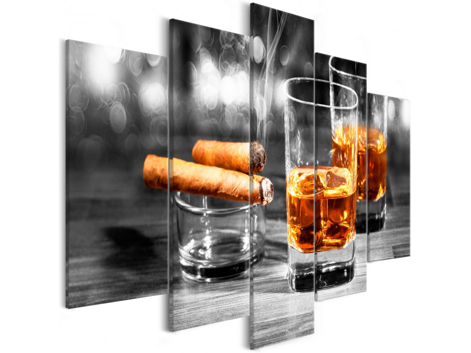 Tableau - Cigars and Whiskey (5 Parts) Wide