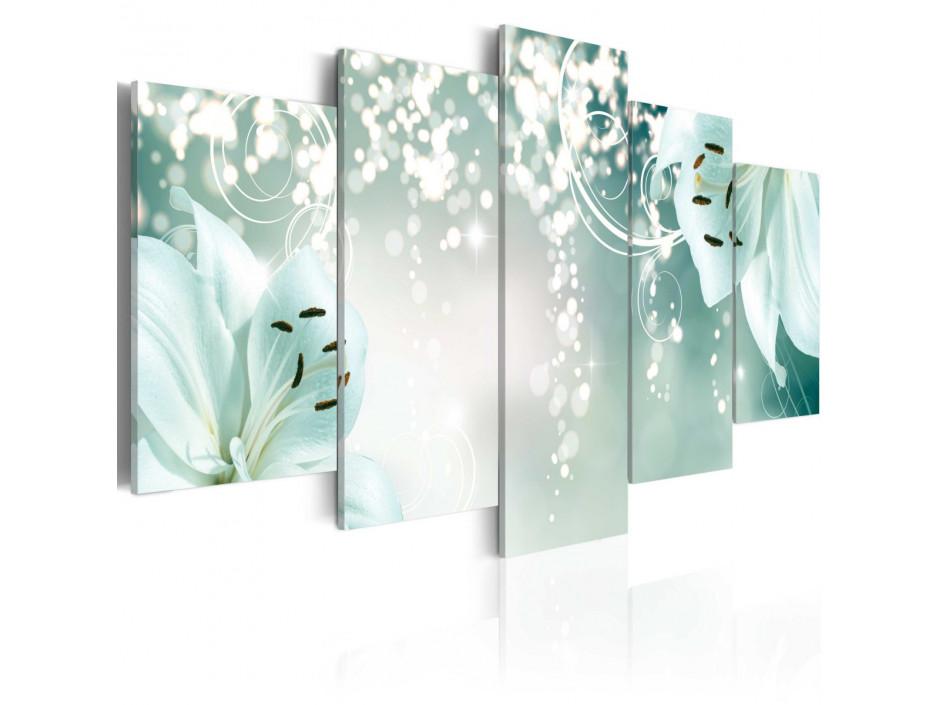 Tableau - Magic green composition