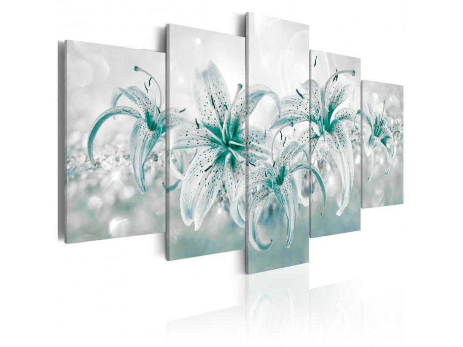 Tableau - Sapphire Lilies