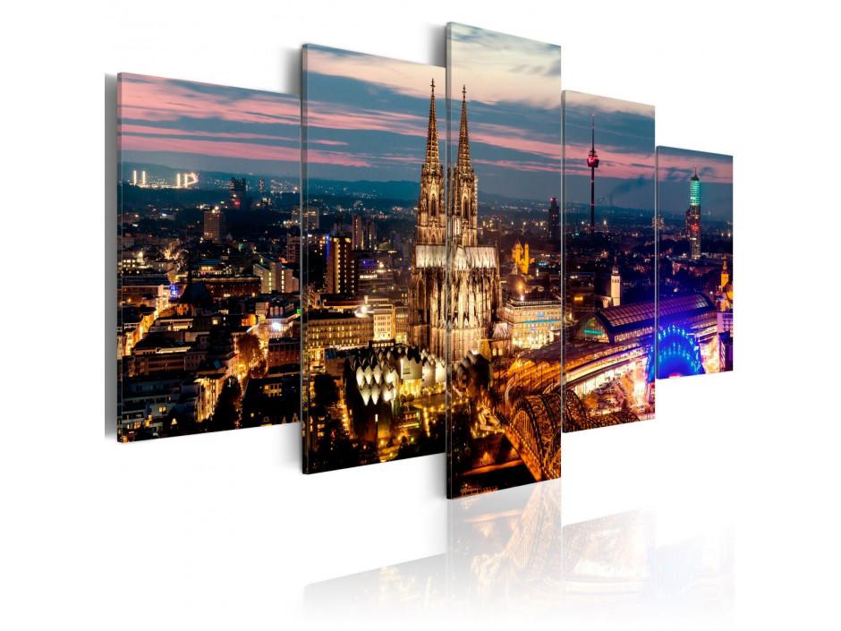 Tableau - Koeln: Night Panorama