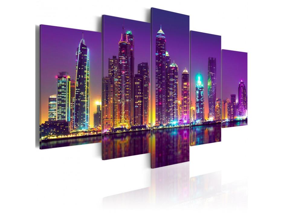 Tableau - Purple Nights