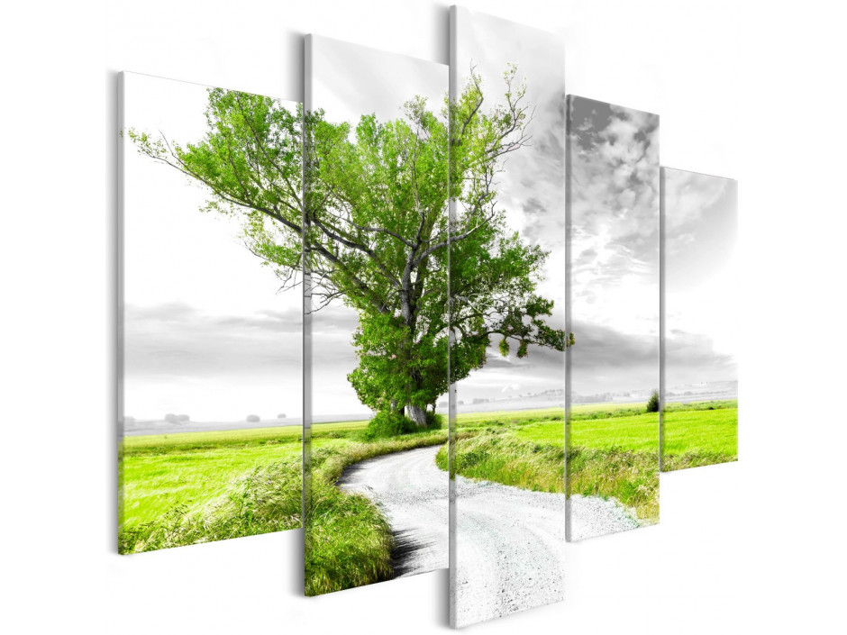 Tableau - Lone Tree (5 Parts) Green