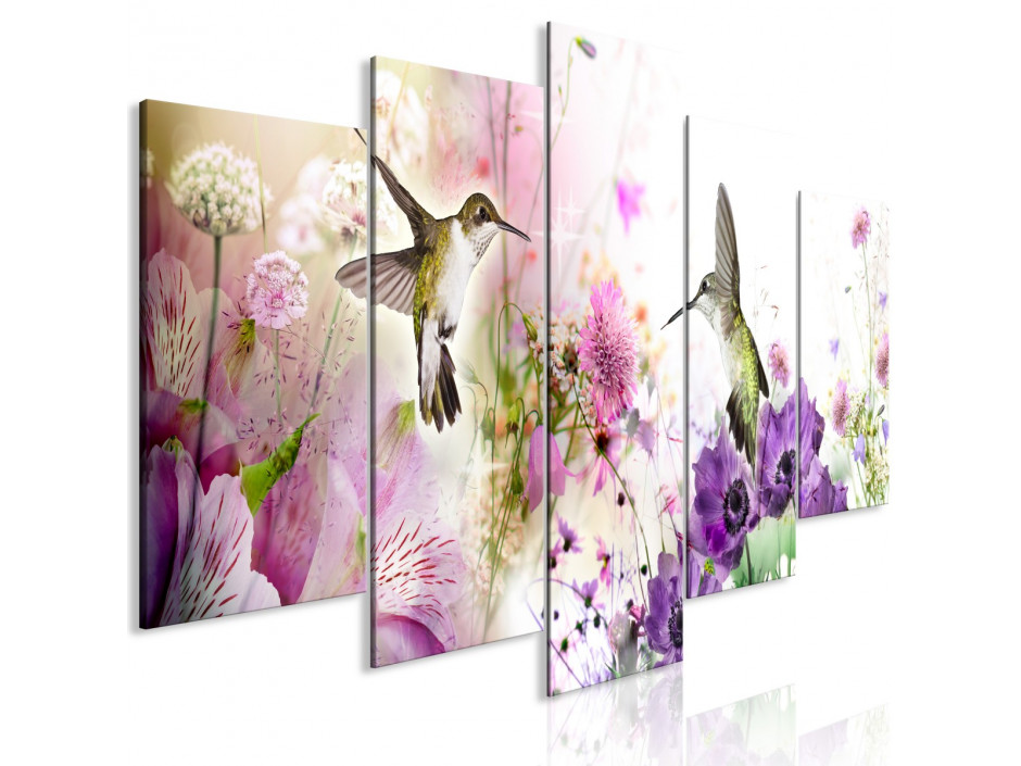Tableau - Colourful Nature (5 Parts) Wide
