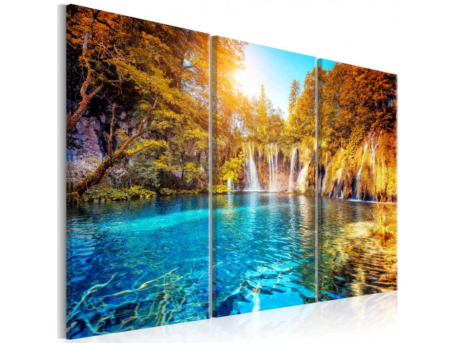Tableau - Waterfalls of Sunny Forest