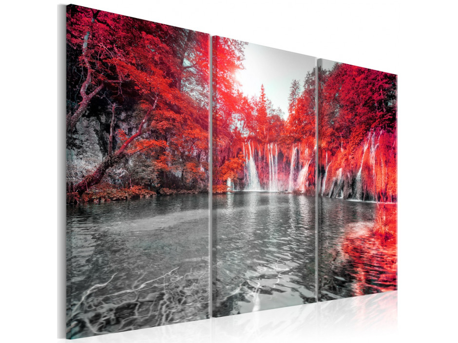 Tableau - Waterfalls of Ruby Forest