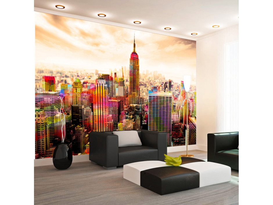 Papier peint  Colors of New York City III