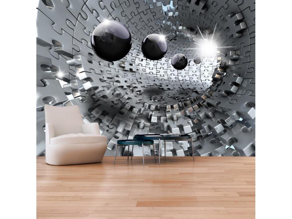 Papier peint  Puzzle  Tunnel
