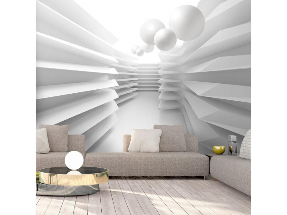 Papier peint  White Maze