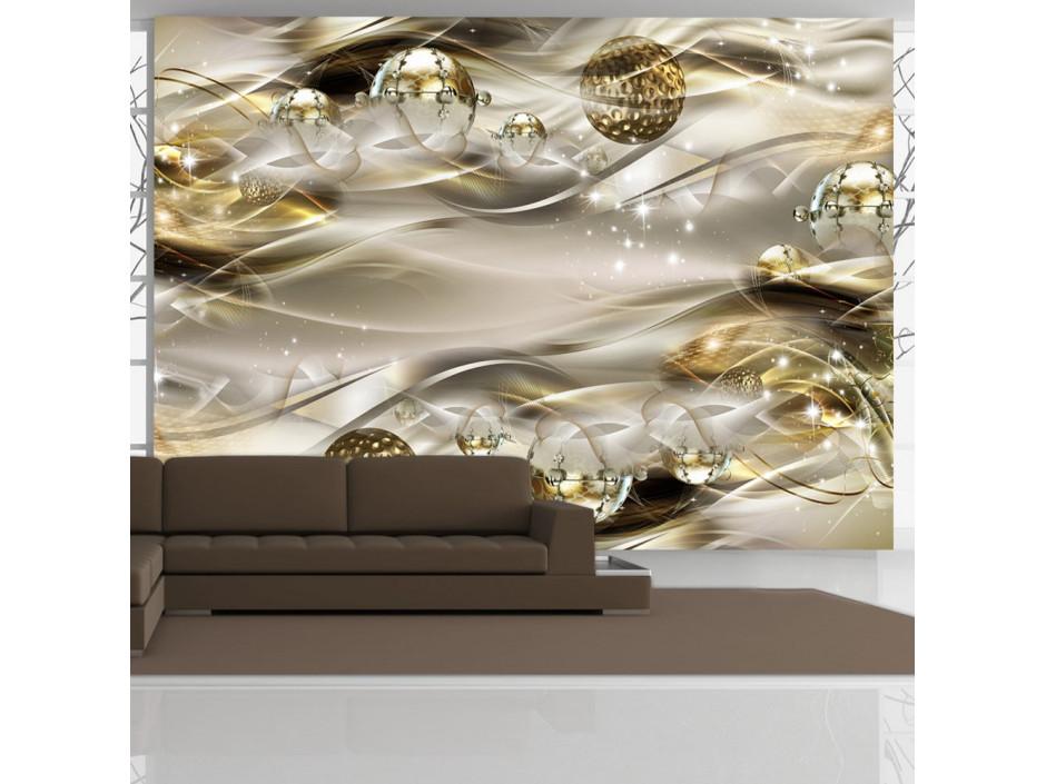 Papier peint  Golden Nebula