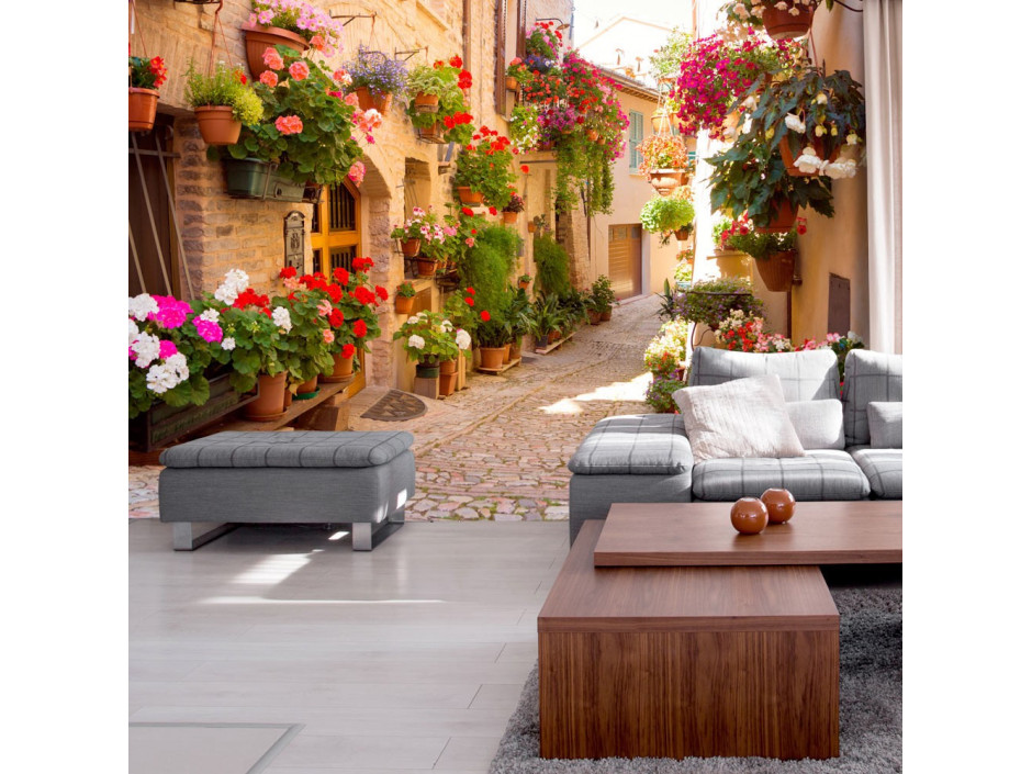 Papier peint The Alley in Spello (Italy)