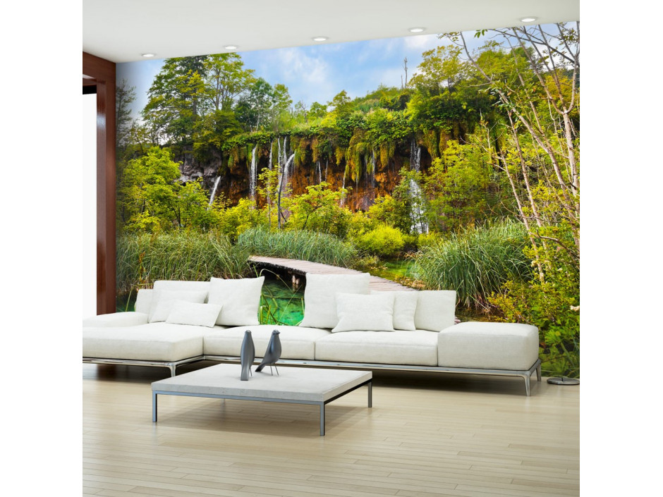 Papier peint Green oasis