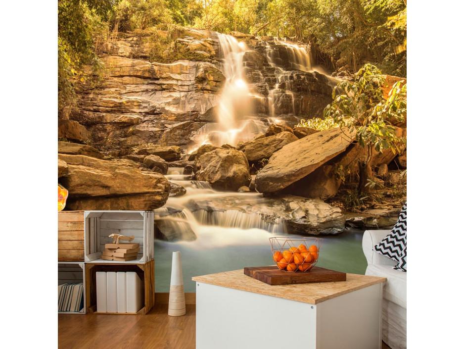 Papier peint Sunny Waterfall