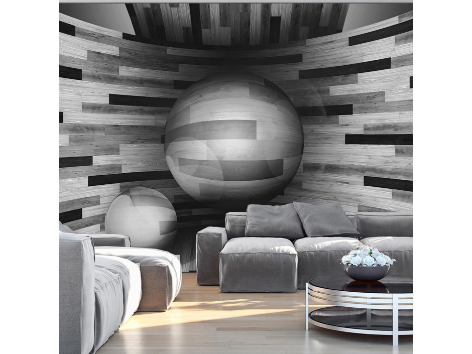 Papier peint  Gray sphere