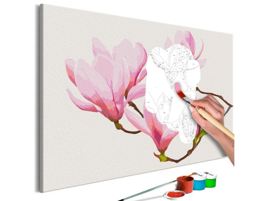 Tableau à peindre par soimême  Floral Twig