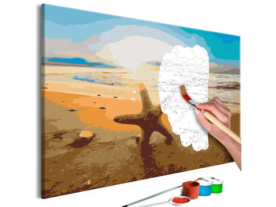 Tableau à peindre par soimême  Sea Finds