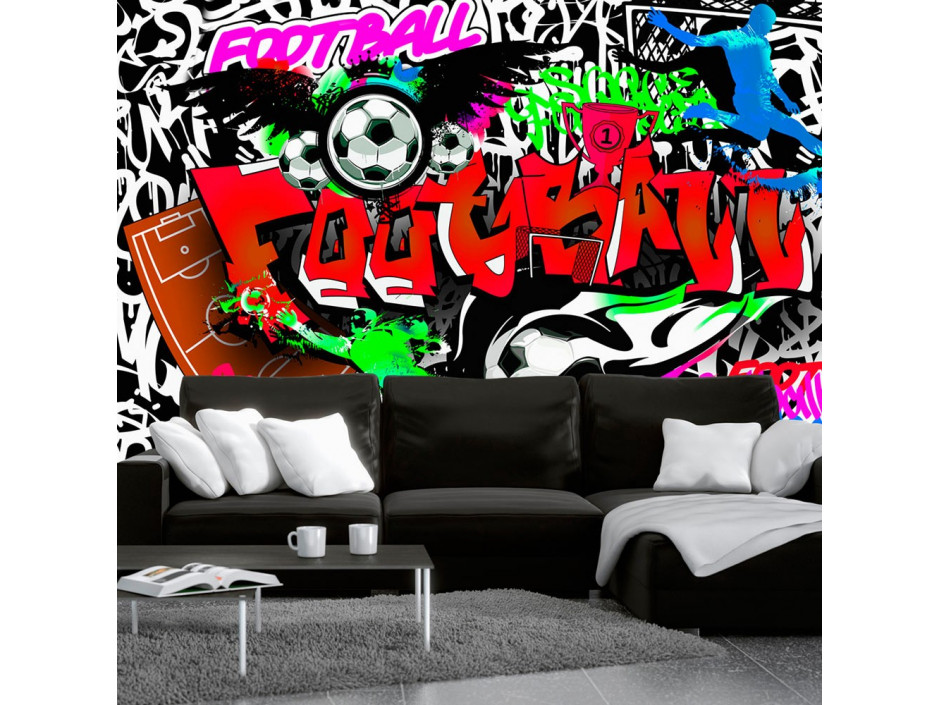 Papier peint  Football Passion