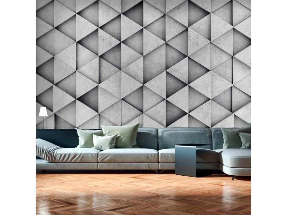 Papier peint  Grey Triangles