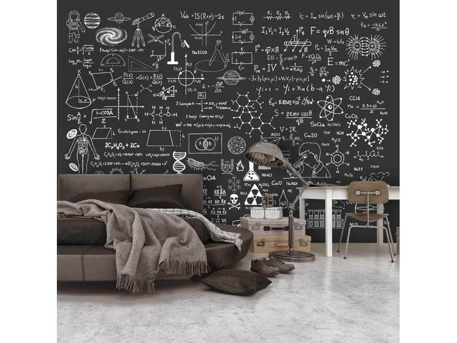 Papier peint  Science on Chalkboard