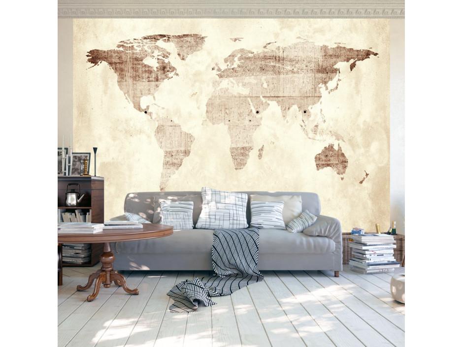 Papier peint  Precious map