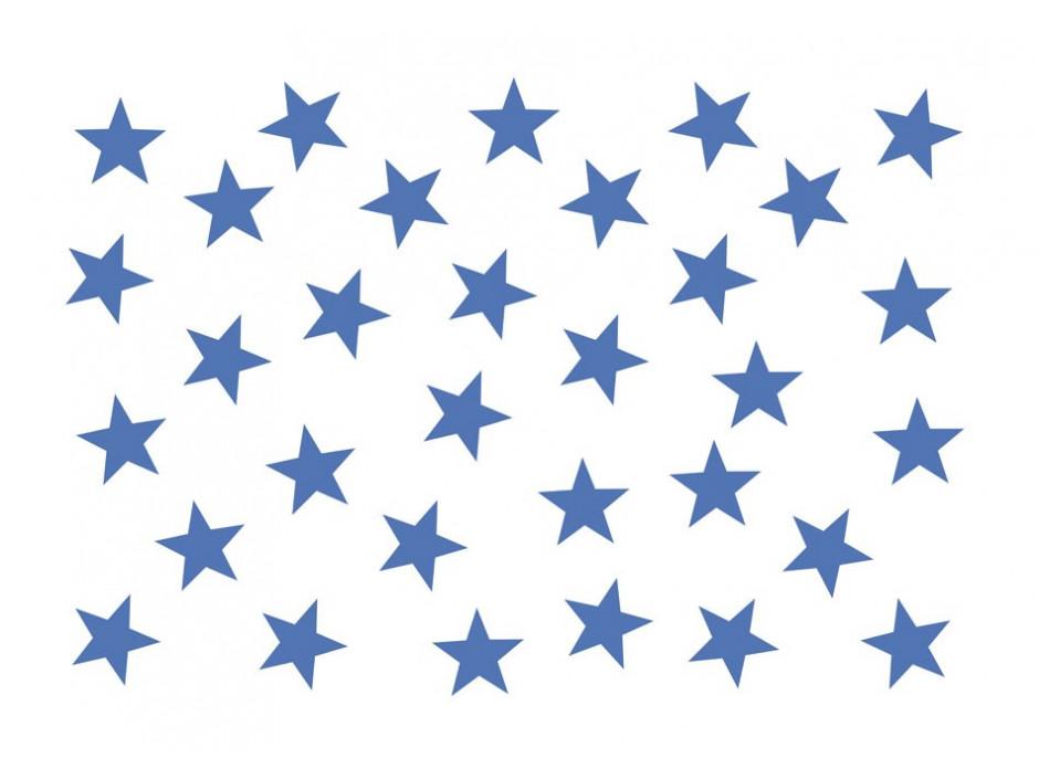 Papier peint  Blue Star