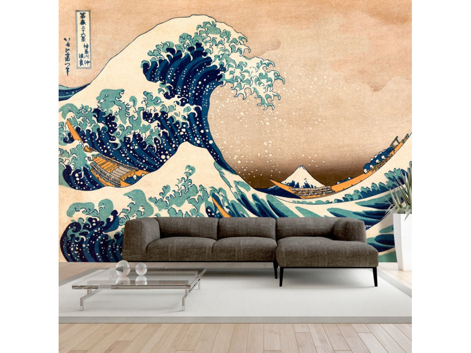 Papier peint  Hokusai The Great Wave off Kanagawa (Reproduction)