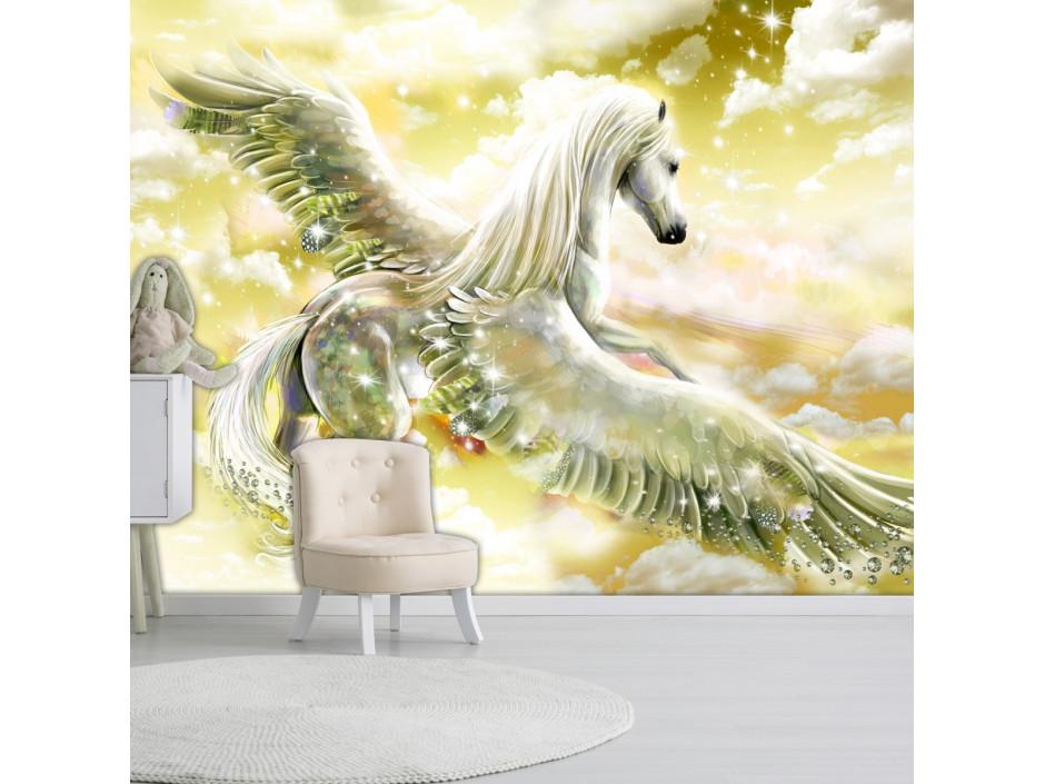 Papier peint  Pegasus (Yellow)