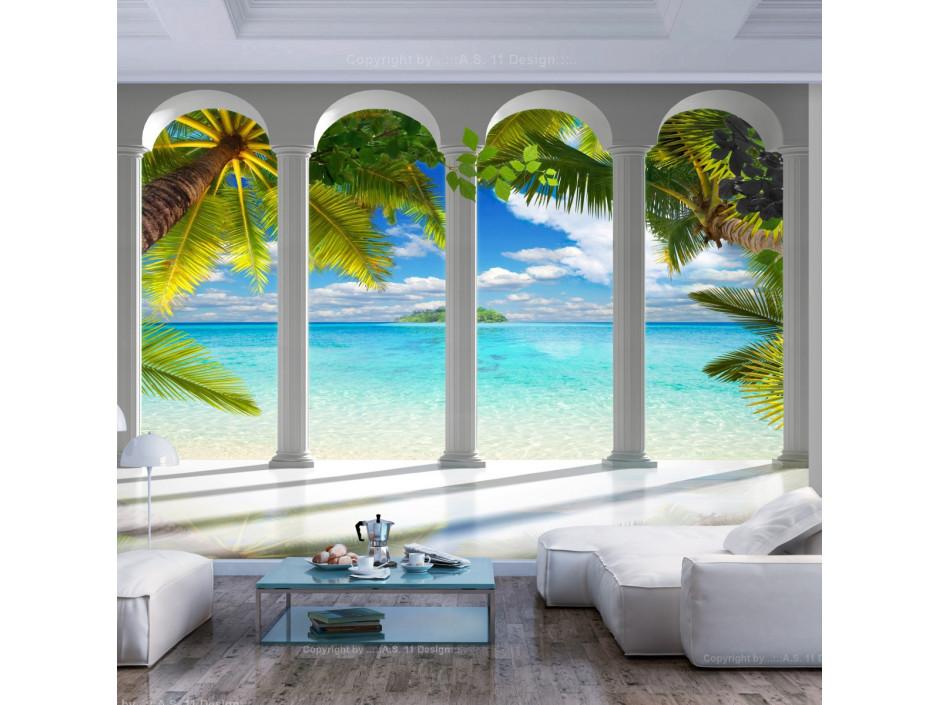 Papier peint  Sea behind Columns