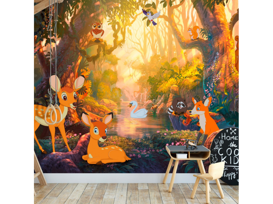 Papier peint  Animals in the Forest