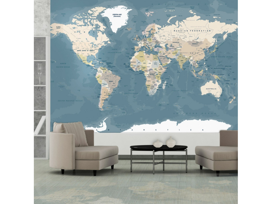 Papier peint  Vintage World Map