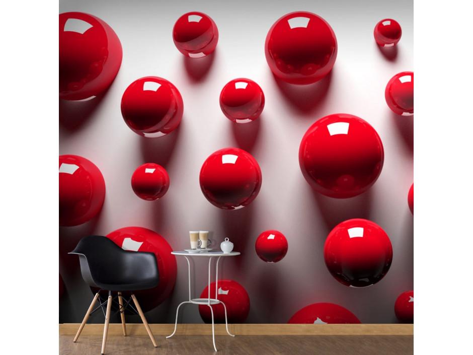 Papier peint  Red Balls