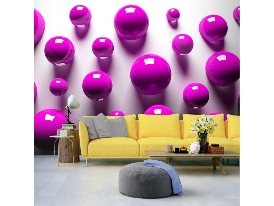 Papier peint Purple Balls