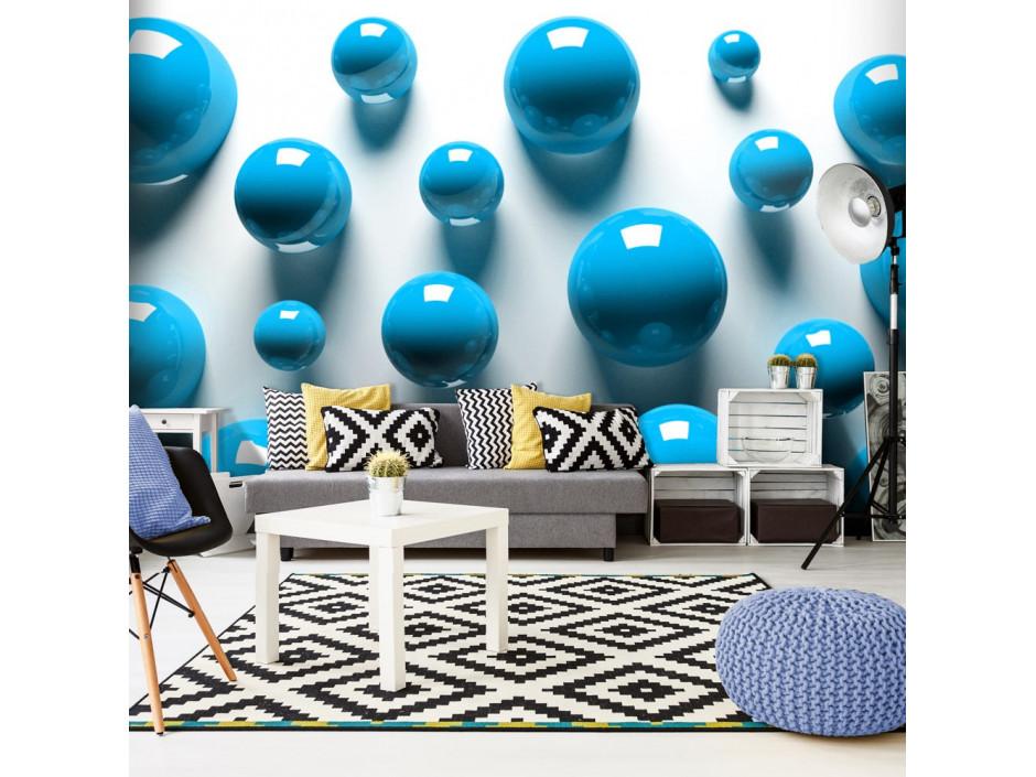 Papier peint Blue Balls